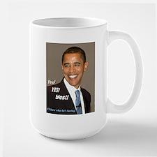 Obama-Yes Mug