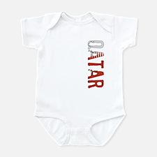 Qatar Stamp Infant Bodysuit