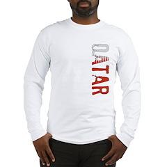 Qatar Stamp Long Sleeve T-Shirt