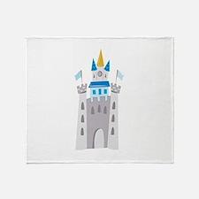 Castle Throw Blanket