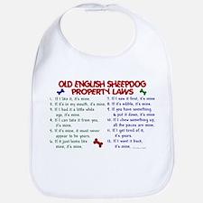 Old English Sheepdog Property Laws 2 Bib