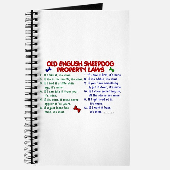 Old English Sheepdog Property Laws 2 Journal