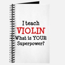 teach violin Journal