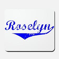 Roselyn Vintage (Blue) Mousepad