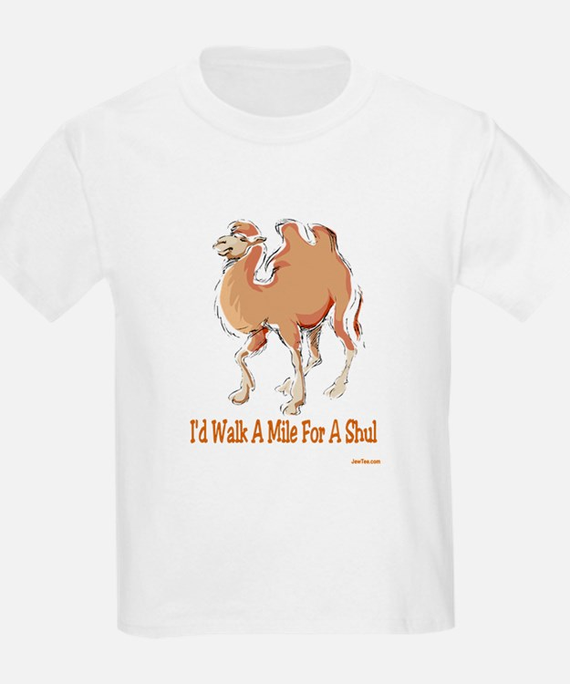 WALK A MILE FOR A SHUL T-Shirt