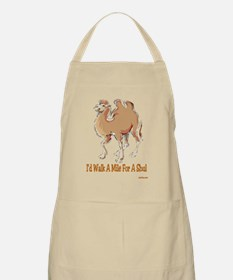 WALK A MILE FOR A SHUL BBQ Apron