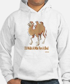 WALK A MILE FOR A SHUL Hoodie