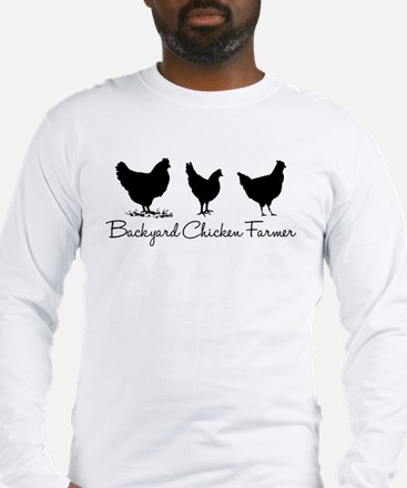 Backyard Chicken Farmer Long Sleeve T-Shirt