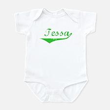 Tessa Vintage (Green) Infant Bodysuit