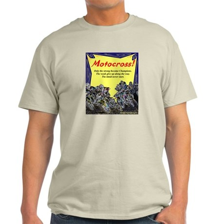 """Motocross Champions"" Light T-Shirt"