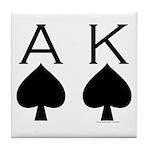 Ace King Tile Coaster