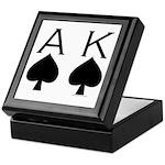 Ace King Keepsake Box