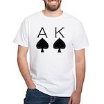 Ace King White T-Shirt