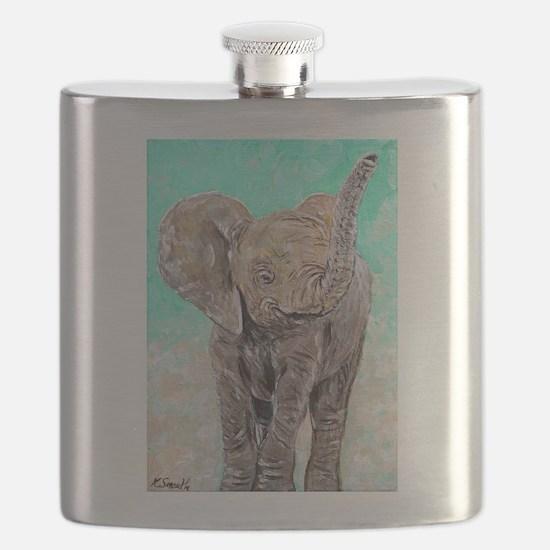 Baby Elephant Flask