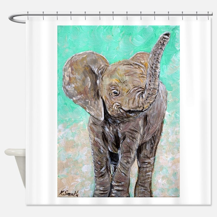 Elephant bathroom decor