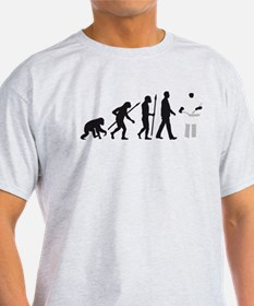 Evolution of man chief cook T-Shirt