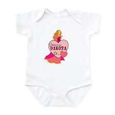 Princess Dakota Infant Bodysuit