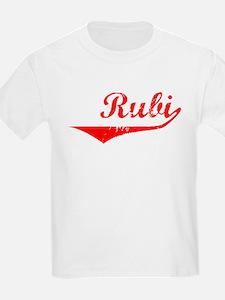 Rubi Vintage (Red) T-Shirt