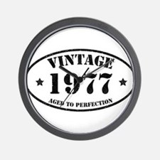 Vintage Aged to Perfection 1977 Wall Clock
