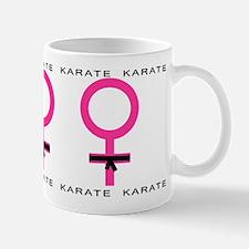 Karate Black Belt Female Mug