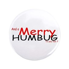 "Merry Humbug 3.5"" Button"