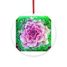 Cabbage Rose Keepsake (Round)