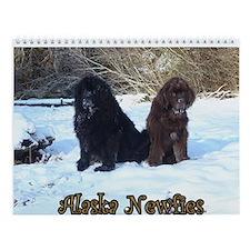Newfoundland Dog Wall Calendar
