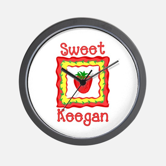 Sweet Keegan Wall Clock