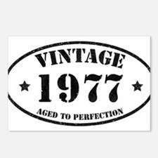 Vintage Aged to Perfectio Postcards (Package of 8)
