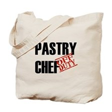 Off Duty Pastry Chef Tote Bag