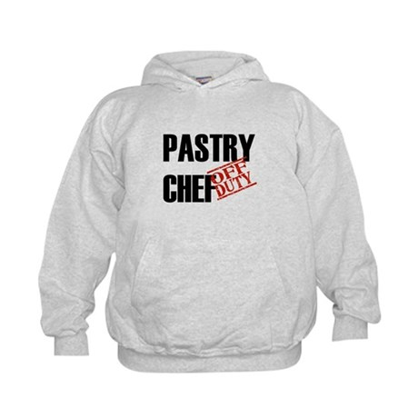 Off Duty Pastry Chef Kids Hoodie