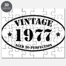 Vintage Aged to Perfection 1977 Puzzle