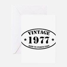 Vintage Aged to Perfection 1977 Greeting Cards