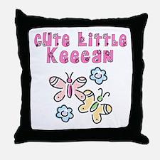 Cute Little Keegan Throw Pillow