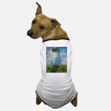 Woman with A Parasol by Claude Monet Dog T-Shirt