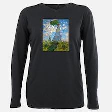 Woman with A Parasol by Claude Monet Plus Size Lon
