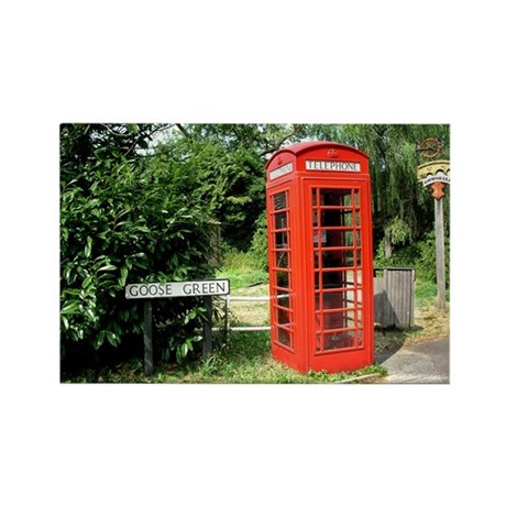 Helaine's Shots of England Rectangle Magnet (100 p
