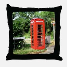 Helaine's Shots of England Throw Pillow