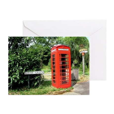 Helaine's Shots of England Greeting Cards (Pk of 1