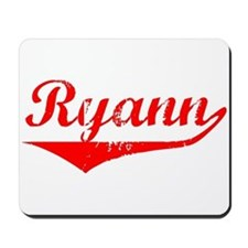 Ryann Vintage (Red) Mousepad
