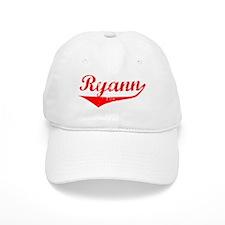Ryann Vintage (Red) Baseball Cap