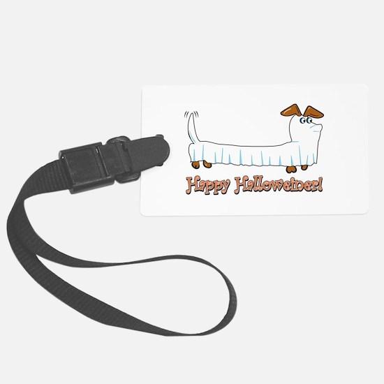Happy Halloweiner Luggage Tag