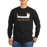 Dachshund halloween Long Sleeve Dark T-Shirts
