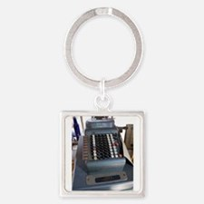 Old American cash register Keychains