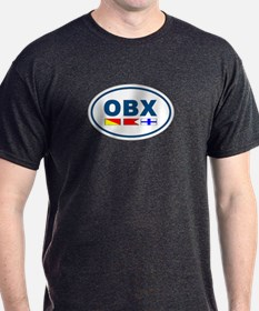 OBX Flag - Dark Blue T-Shirt