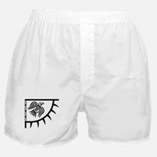 Viking Black Raven Banner Boxer Shorts