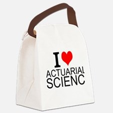I Love Actuarial Science Canvas Lunch Bag