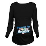 The avengers Dark Long Sleeve Maternity T-Shirt