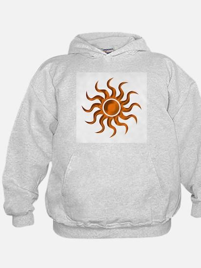 Orange Starburst Hoodie