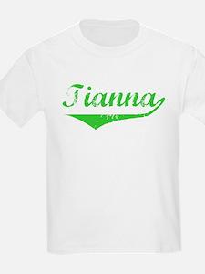 Tianna Vintage (Green) T-Shirt